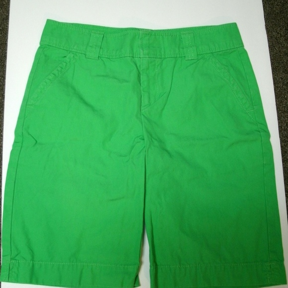 Lilly Pulitzer Pants - Lilly Pulitzer Shorts Green Resort Fit Size 2